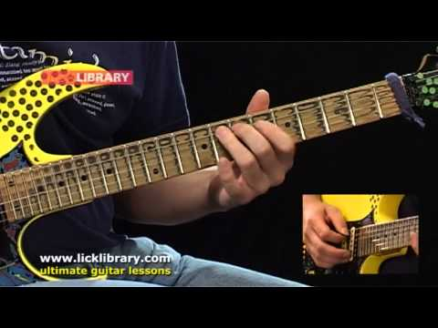 Flight Of The Bumble Bee - Guitar Performance With Nick Andrew Licklibrary
