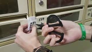 как вскрыть замок от почтового ящика в подъезде если потерял ключ