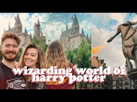 FLORIDA VLOGS! WIZARDING WORLD OF HARRY POTTER AND UNIVERSAL - DAY 7 + 8 | LUCY WOOD [AD-GIFTED]