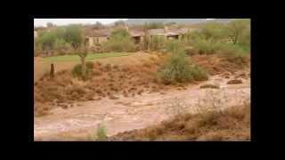 July 31 2012 Anthem Arizona Monsoon Flooding