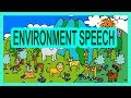 ENVIRONMENT Day SPEECH lyrics /  English