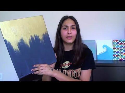 DIY: Metallic Painting