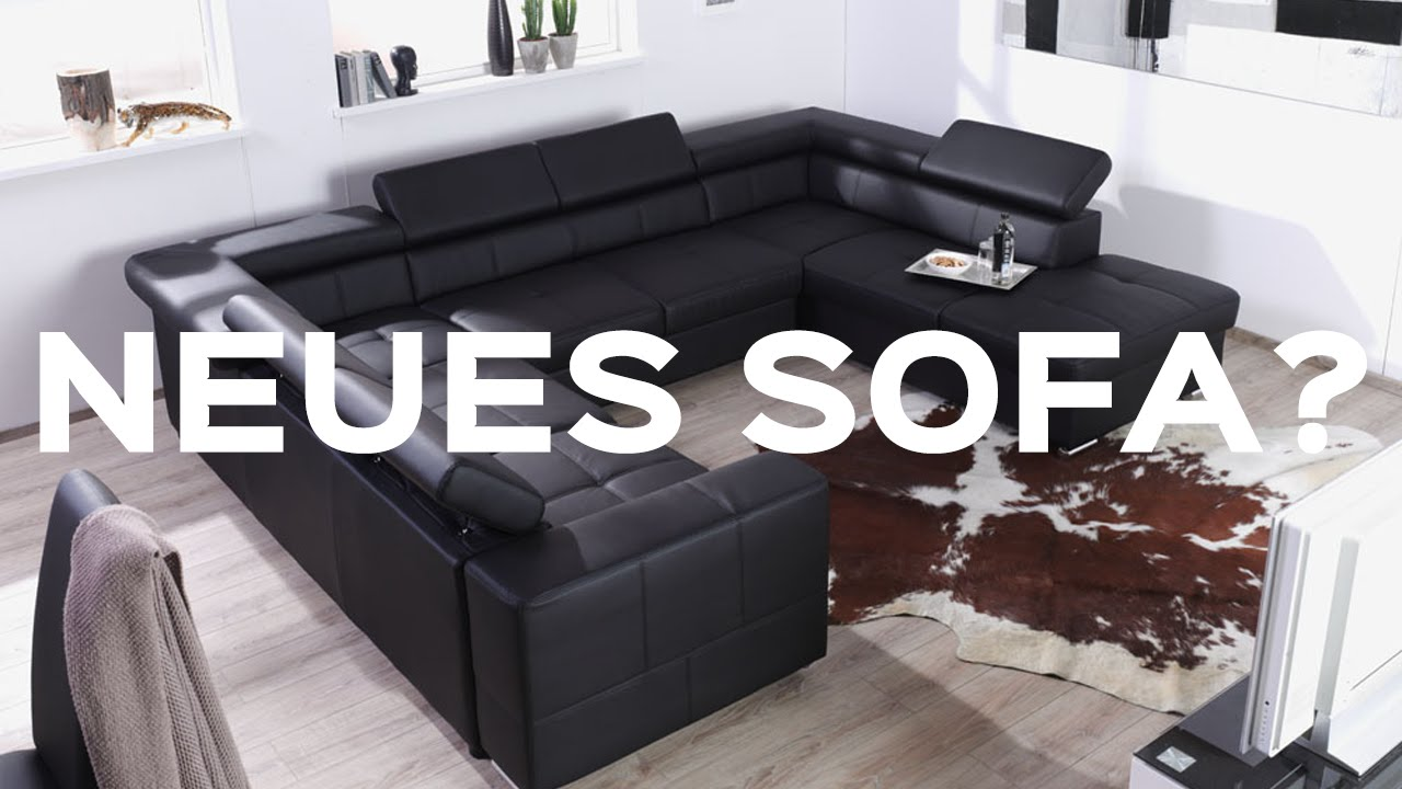 schnapperm bel neues sofa youtube. Black Bedroom Furniture Sets. Home Design Ideas