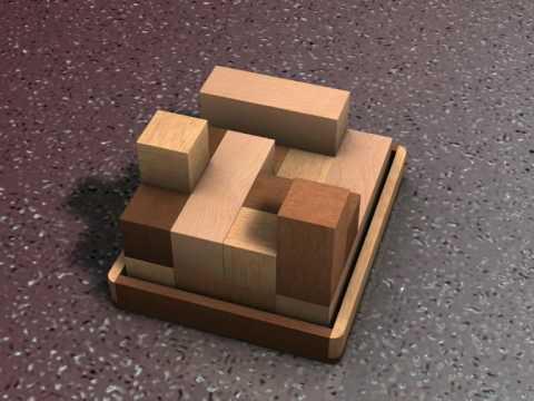 12 piece wooden puzzle