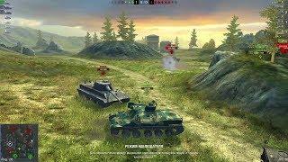 World of Tanks Blitz WOT gameplay EP123(03/17/2018)