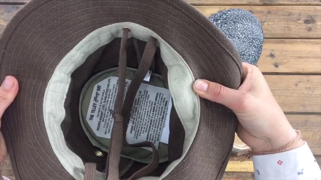 77b97c14 TH5 Medium Curved Brim Hemp Hat   Walking Hats   Tilley Endurables