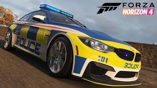 Forza Horizon 4 Multiplayer | Cops VS Racer | Jäger und Gejagter