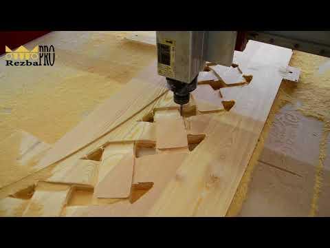 Производство резных изделий из дерева по ЧПУ станках