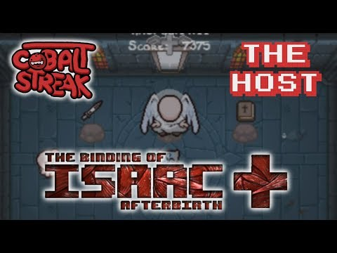 Afterbirth+ Unlocks #03 - The Host - Cobalt Streak