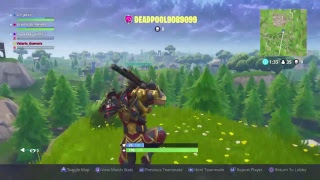 SAVE THE WORLD FORTNITE THIS KID scammed me :(GAME PLAY PS4]