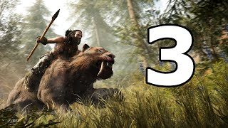 Far Cry Primal Walkthrough Part 3 - No Commentary Playthrough (PS4)