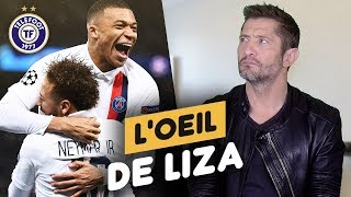 "VIDEO: ""L'e PSG a la meilleure attaque d'Europe"" - L'oeil de Liza #10"