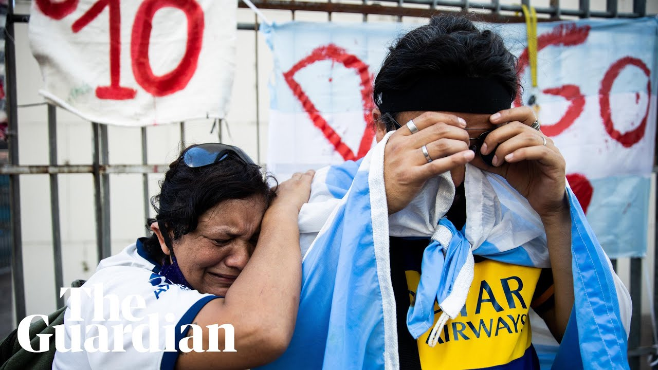 Diego Maradona Is Mourned in Argentina