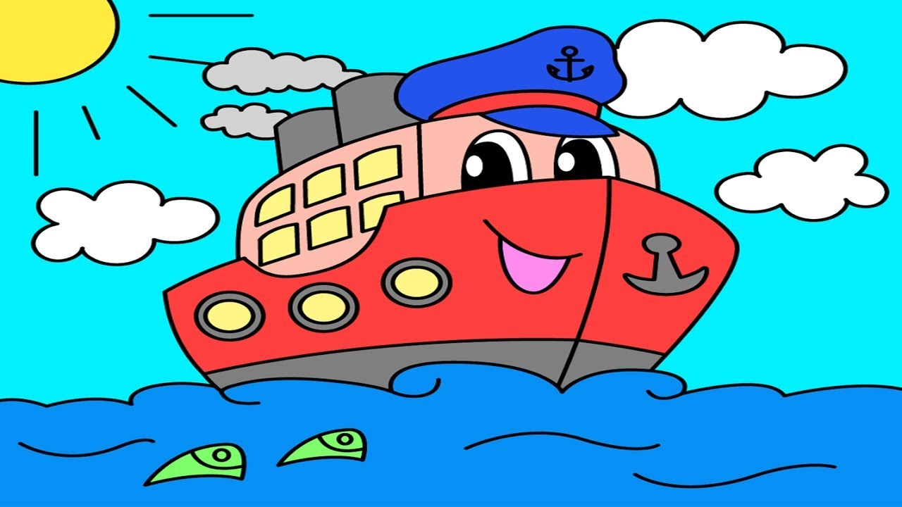 Coloring pages for children : transport ( by Funny games for the ...