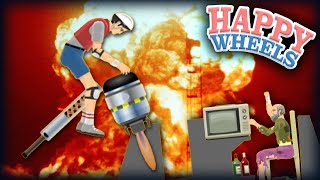 STOPPING A NUCLEAR BOMB!    Happy Wheels #36