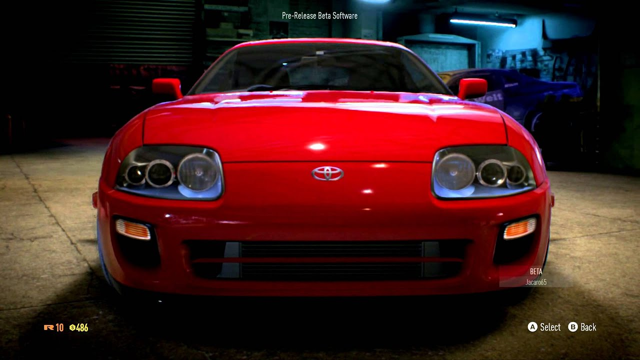 NEED FOR SPEED 2015 Toyota Supra Gameplay HD PS4 XBOX