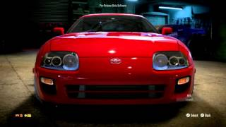need for speed 2015 toyota supra gameplay hd ps4 xbox one pc