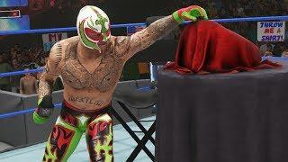 REY MYSTERIO & PAIGE UNVEIL MEXICAN CHAMPIONSHIP! | WWE 2K19 Universe Mods