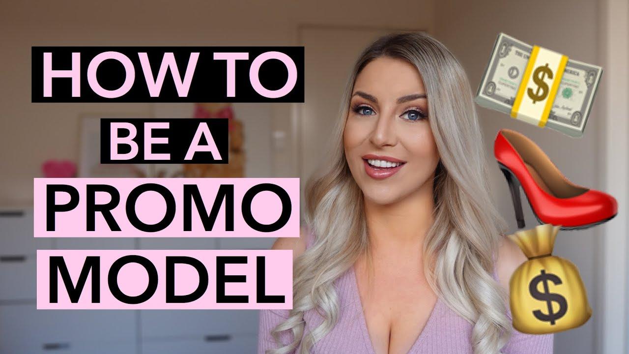 How to be a PROMO MODEL / BRAND AMBASSADOR