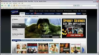 Using the Internet : How to Rent Blockbuster Movies Online