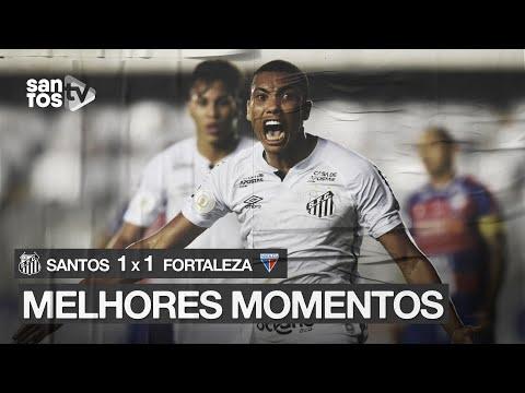 SANTOS 1 X 1 FORTALEZA | MELHORES MOMENTOS | BRASILEIRÃO (27/09/20)