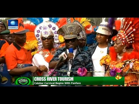 Tourists Troupe In For Calabar Carnival |News Across Nigeria|