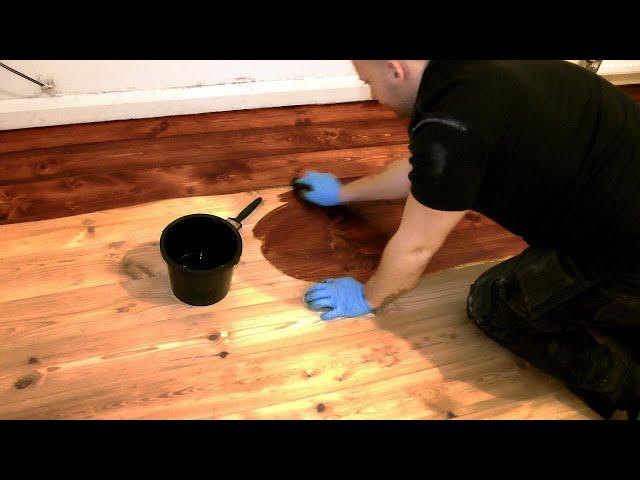 Staining Hardwood Floors Without Sanding