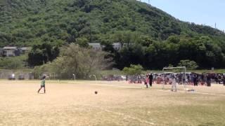 2012 岐阜市U9サッカー大会  城西×合渡 PK戦