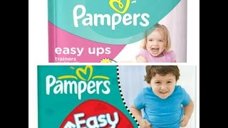 Fralda Pampers Easy Ups