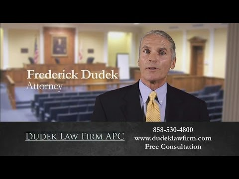 Meet San Diego Accident Attorney Frederick Dudek