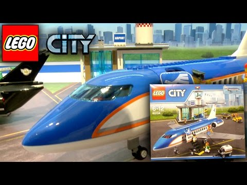 LEGO City 2016 Airport (60100-60104) Planes, Jets, Airshow Nuremberg Toy Fair