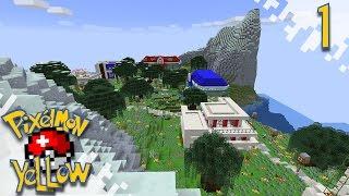 Pixelmon YELLOW!  - Home Already!  - Ep01 (Minecraft Pokemon Mod)