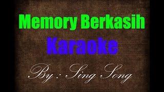 Gambar cover Memory Berkasih Akustik Karaoke No Vocal