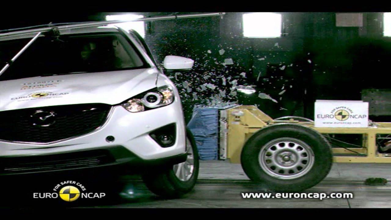 pruebas del mazda cx 5 euroncap mayo 2012 youtube
