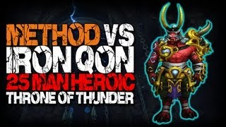 Method vs Iron Qon (25 Heroic) World First