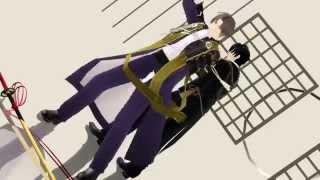 【MMD刀剣乱舞】器物破損コンビでジャバヲッキー・ジャバヲッカ+固定カメラ