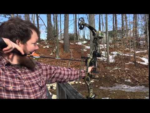 Reflex Growler Compound Bow - SlowMo 2-20-2016