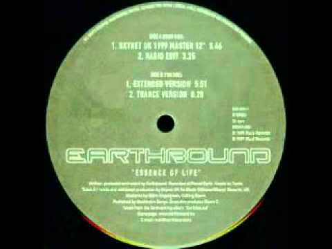 Earthbound - Essence Of Life (Trance Version) - Fluid Records - 1999