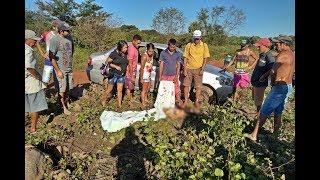 Mulher de 35 anos morre e outras 05 pessoas ficam feridas após capotamento de carro em Cocal-PI