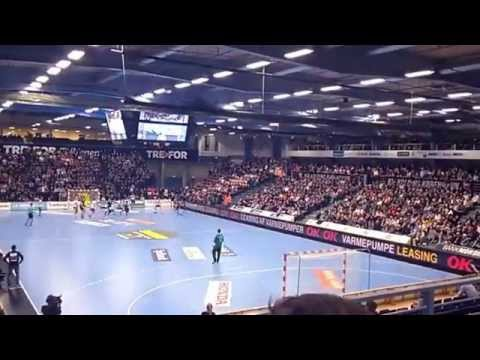 Hyper lapse of Handball match in Kolding