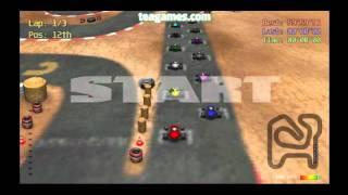 Red Kart Racer on Teagames.com - Short Game Trailer