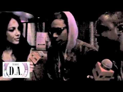 The D.A. talks to Wiz Khalifa