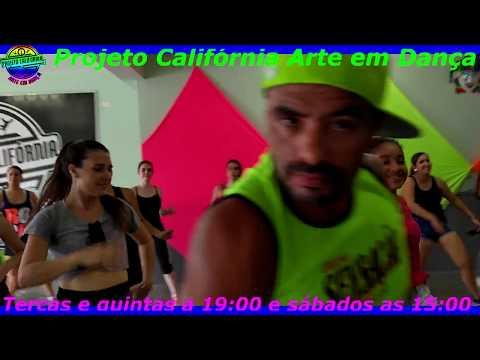 Na base do beijo - Ivete Sangalo   Projeto Califórnia Arte em Dança