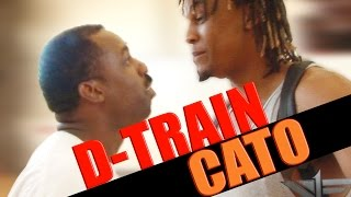 V1F - 1 on 1 Basketball, Game 057 (D-Train vs Cato)