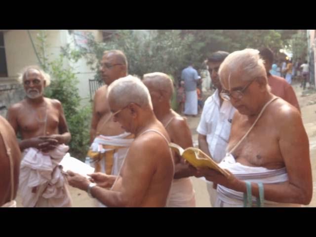 Villivakkam Ashramam Koil Garuda Sevai on 16th Oct. 2016