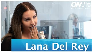 Lana Del Rey Dishes on Recording Sublime Cover 'Doin' Time' Much More | On Air With Ryan Seacrest