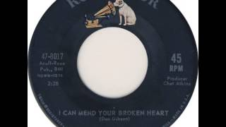 Don Gibson ~ I Can Mend Your Broken Heart YouTube Videos
