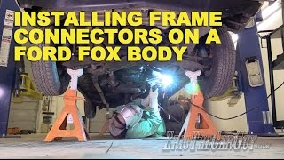 Installing Frame Connectors Ford Fox Body #FairmontProject