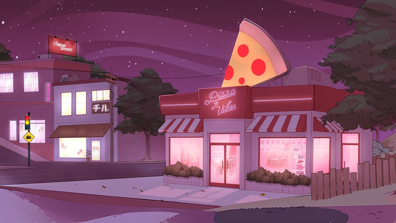 🍕 Pizza Shop [Lofi / Jazz Hop / Chill Mix]