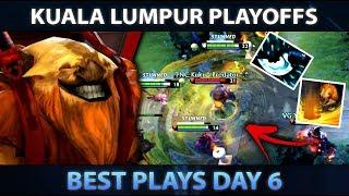 KUALA LUMPUR MAJOR - Best Plays of Day 6 [Playoffs] - Dota 2